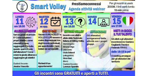 EVS & VOLLEY CLUB: AVANTI TUTTA...ON LINE